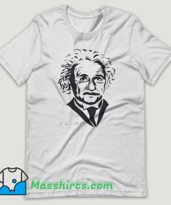 Albert Einstein Scientist Inventor T Shirt Design