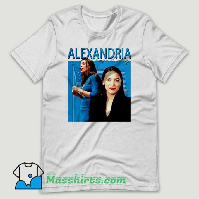 Alexandria Ocasio Cortez T Shirt Design