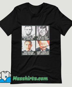 America President Sarcastic T Shirt Design
