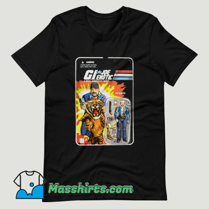 American Hero Joe Exotic Tiger King President T Shirt Design