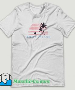 Amity Island Welcomes You Jaws T Shirt Design