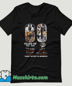 Andy Griffith Show 60 Years Birthday Show T Shirt Design