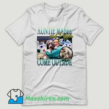Auntie Mabel And Pippin T Shirt Design