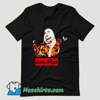 Ava Max Singer T Shirt Design
