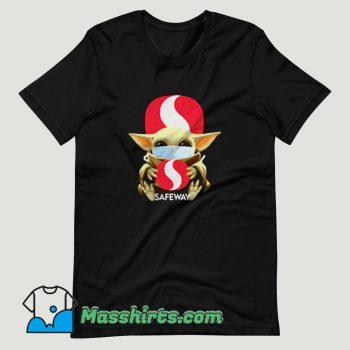 Baby Yoda Mask Hug Safeway T Shirt Design