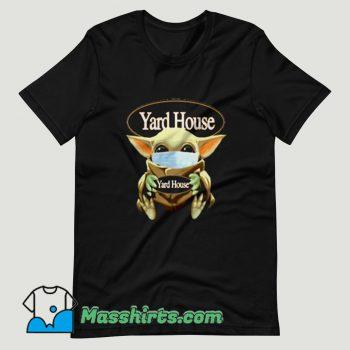 Baby Yoda Mask Hug Yard House T Shirt Design