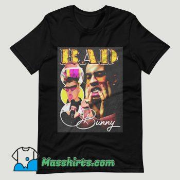 Bad Bunny Photoshoot Collage T Shirt Design