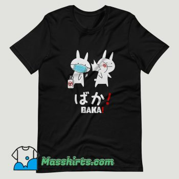Baka Rabbit Slap Mask Covid 19 T Shirt Design