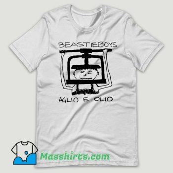 Beastie Boys Aglio E Olio T Shirt Design