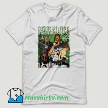 Beetlejuice Green Rapper T Shirt Design