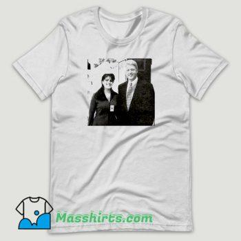 Bill Clinton and Monica Lewinsky T Shirt Design