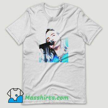Billie Eilish Blue Aesthetic T Shirt Design