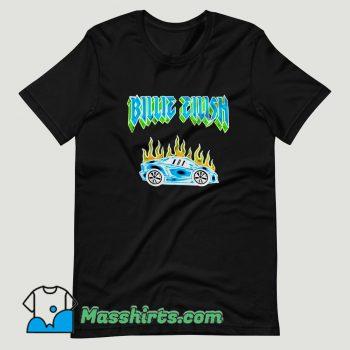 Billie Eilish Car Flames Tour T Shirt Design