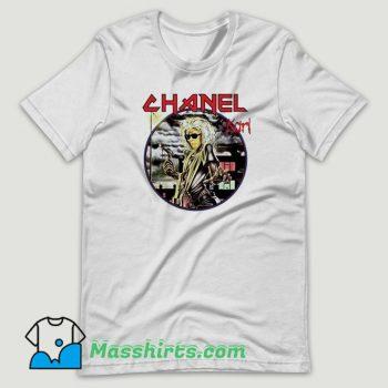 Bleached Goods Iron T Shirt Design