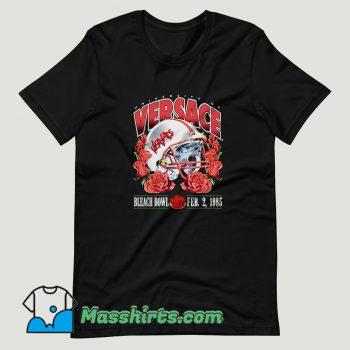 Bleached Goods Rose Froze T Shirt Design