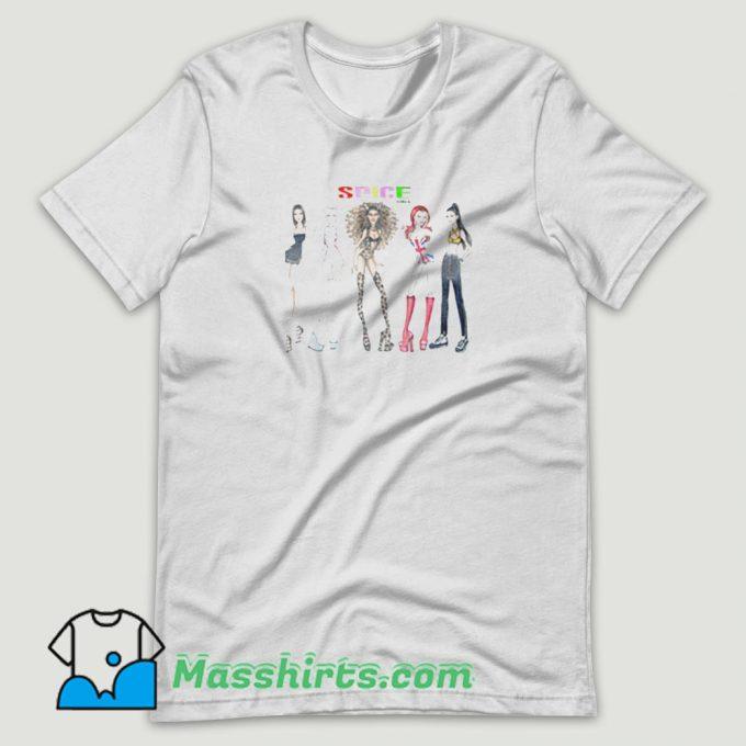 British Spice Girl T Shirt Design