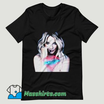 Britney Spears Retro T Shirt Design