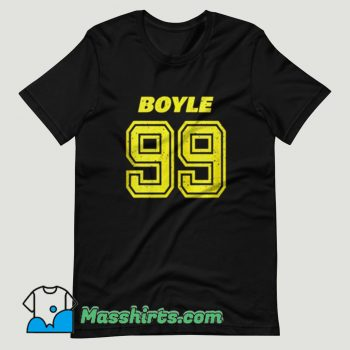 Brooklyn Nine Nine Boyle T Shirt Design