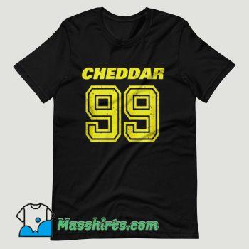 Brooklyn Nine Nine Cheddar T Shirt Design