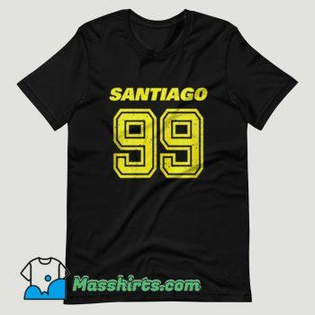 Brooklyn Nine Nine Santiago T Shirt Design