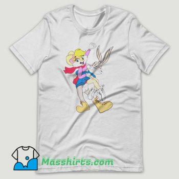 Bugs Lola Bunny Rabbit T Shirt Design