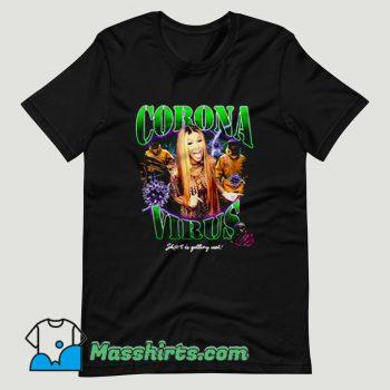 Cardi B Coronavirus Short Is Getting Val T Shirt Design