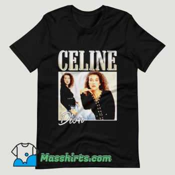Celine Dion Casual Retro T Shirt Design