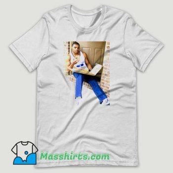 Charles Barkley Eating Pizza T Shirt Design
