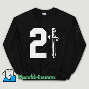 Cheap 21 Savage Issa Knife Unisex Sweatshirt