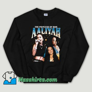Cheap Aaliyah Queen RnB Rap Unisex Sweatshirt