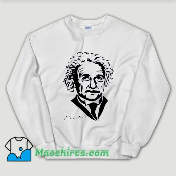 Cheap Albert Einstein Scientist Inventor Unisex Sweatshirt
