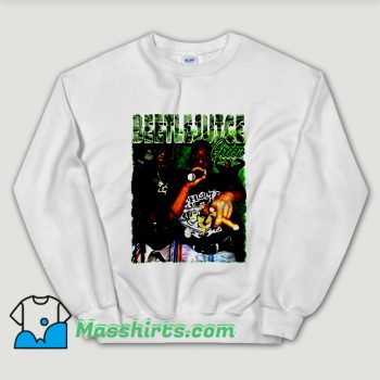 Cheap Beetlejuice Green Rapper Unisex Sweatshirt