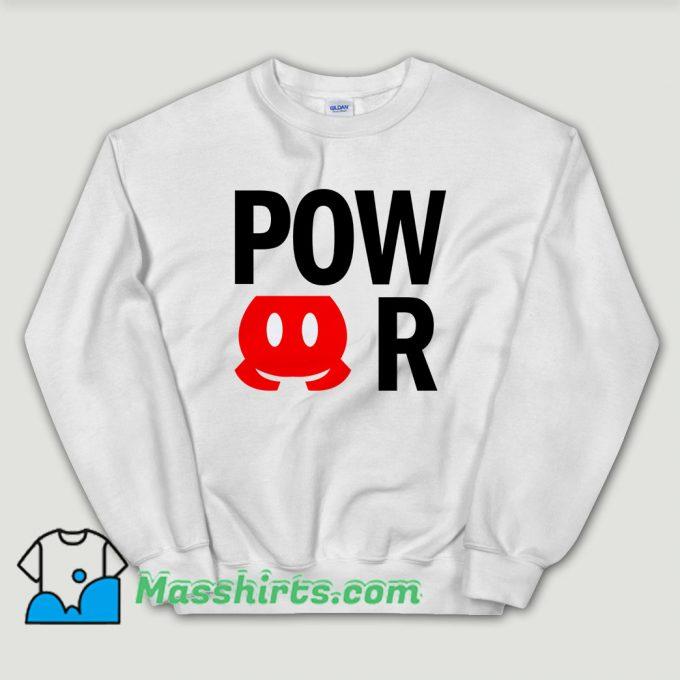 Cheap Power Mickey Mouse Sweatshirt