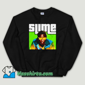 Cheap Young Thug SLIME Thugger Unisex Sweatshirt