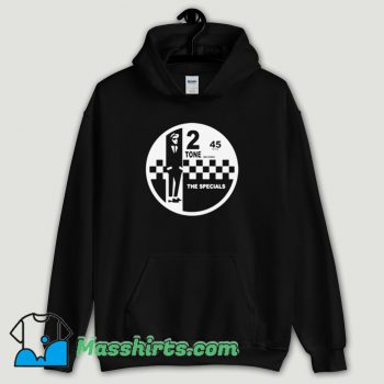 Cool 2 Tone Records The Specials Retro Music Hoodie Streetwear