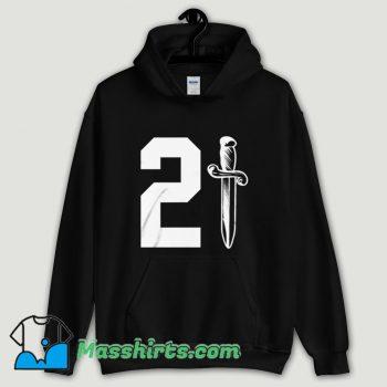 Cool 21 Savage Issa Knife Hoodie Streetwear