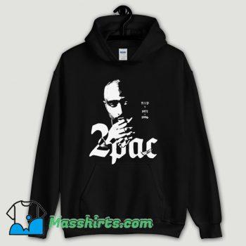 Cool 2Pac Tupac Shakur King Rap Hoodie Streetwear