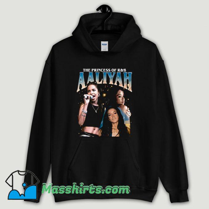 Cool Aaliyah Queen RnB Rap Hoodie Streetwear