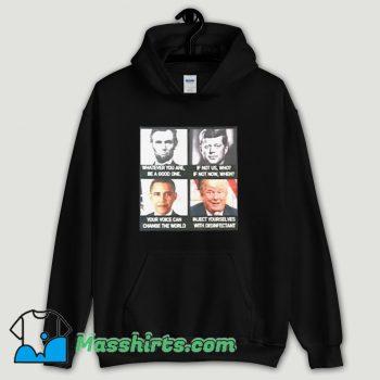 Cool America President Sarcastic Hoodie Streetwear