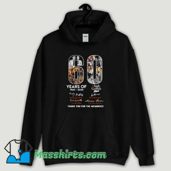 Cool Andy Griffith Show 60 Years Birthday Show Hoodie Streetwear