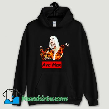 Cool Ava Max Singer Hoodie Streetwear