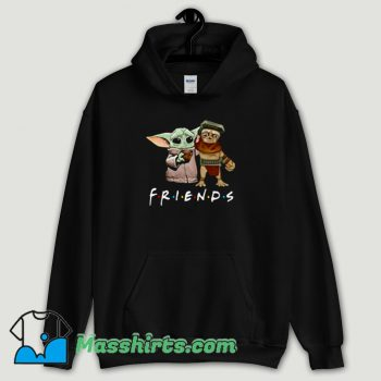 Cool Baby Babu Frik And Baby Yoda Friends Hoodie Streetwear