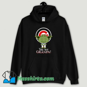 Cool Baby Yoda Chicago Cubs Best Grandpa Hoodie Streetwear