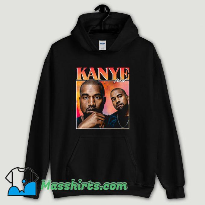 Cool Kanye West Retro Hoodie Streetwear
