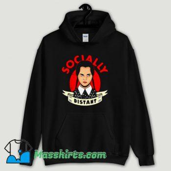Cool Socially Distant Girl Hoodie Streetwear
