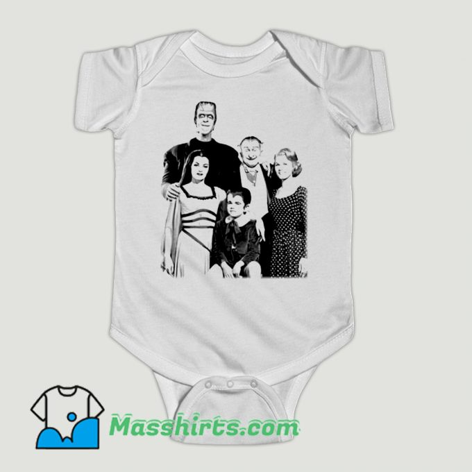 Funny 1960S The Munsters Herman Baby Onesie