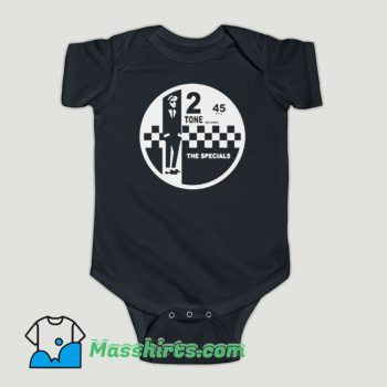 Funny 2 Tone Records The Specials Retro Music Baby Onesie
