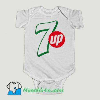 Funny 7 UP Drink Coke Baby Onesie