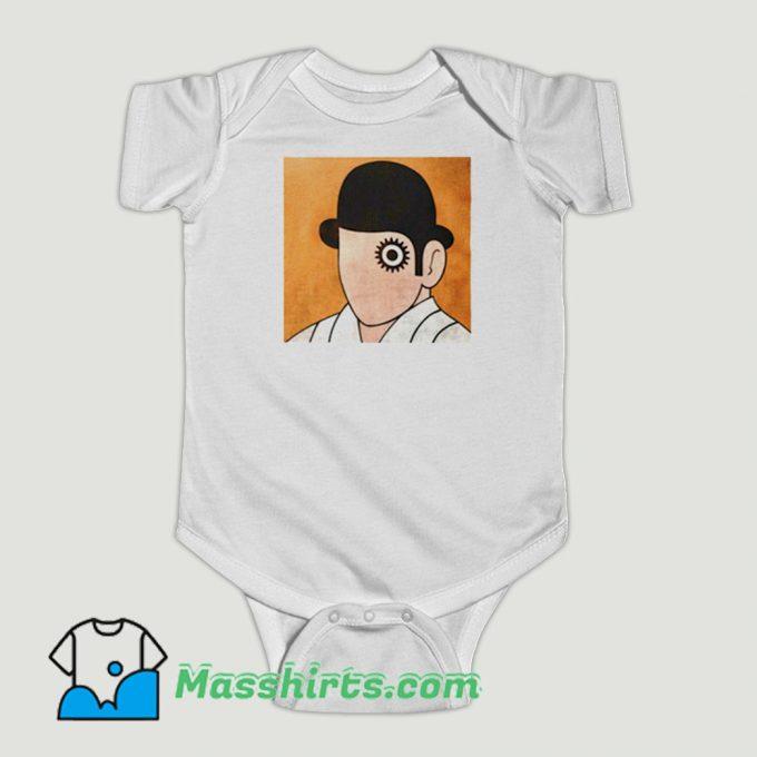 Funny A Clockwork Orange Stanley Kubrick Baby Onesie