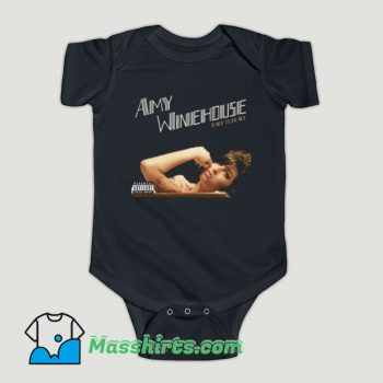 Funny Amy Winehouse Back To Back Baby Onesie
